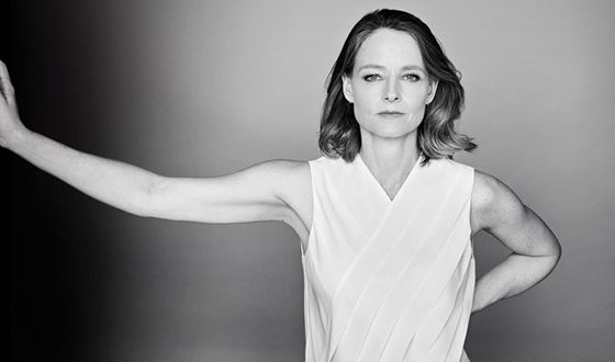 Jodie Foster in her youth