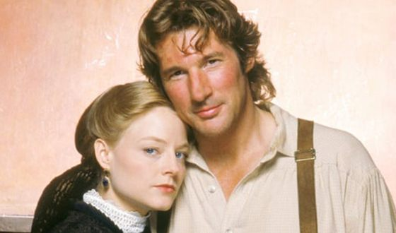 Jodie Foster and Richard Gere