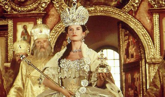 Catherine Zeta-Jones is not like Catherine the Great at all