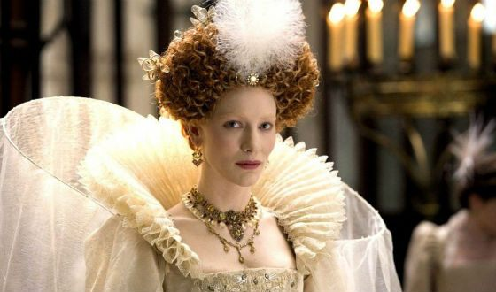 The film Elizabeth is dedicated to the difficult story of the Queen of England