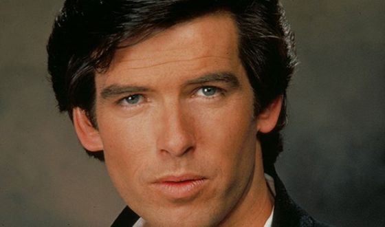 Young Pierce Brosnan