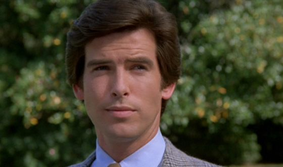 Pierce Brosnan in Remington Steele