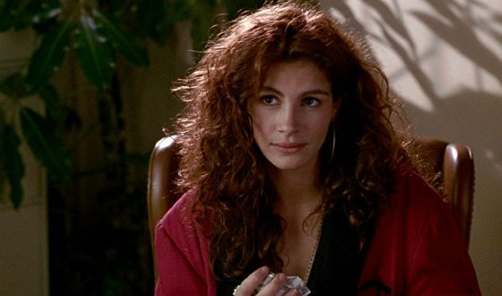 Julia Roberts was be most beautiful ice cream peddler you'd ever meet