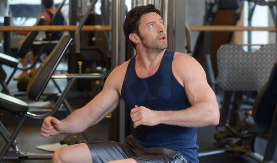 Even now Hugh Jackman has what it takes to give you a physical culture lesson
