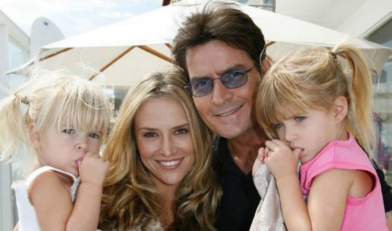 Currently, Charlie Sheen is banned from ever visiting his daughters