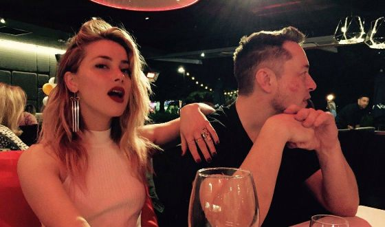 Elon Musk and Amber Heard dated for about a year