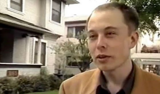 Elon Musk before becoming famous