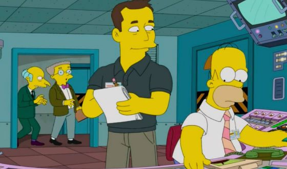 Elon Musk appeared in The Simpsons