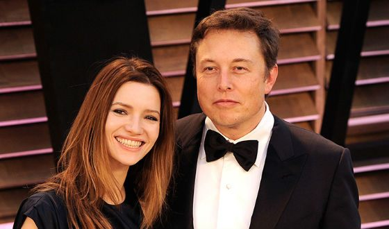 Elon Musk's second wife, Talulah Riley