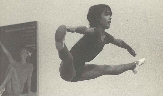 As a child, Salma Hayek was involved in gymnastics