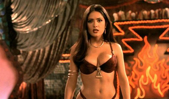 A shot from the film From Dusk till Dawn