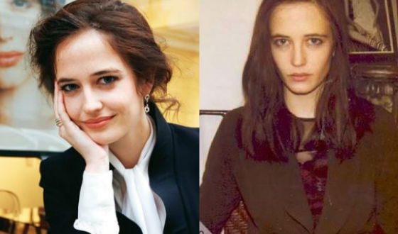Eva Green before becoming well-known