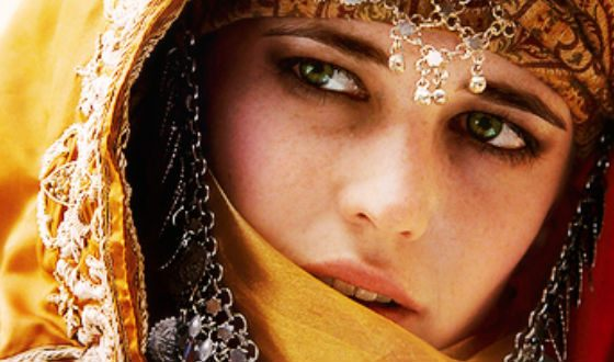 «Kingdom of Heaven»: Eva Green in the role of Sibylla