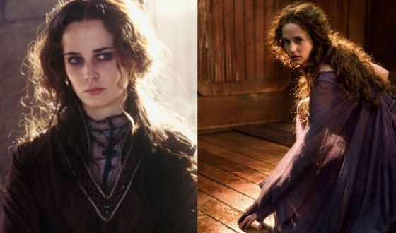 Eva Green in the role of Serafina Pekkala («The Golden Compass»)