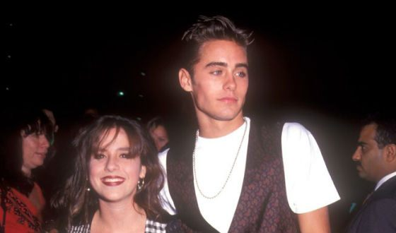 Jared Leto with Soleil Moon Frye