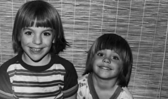 Little Jared Leto with older brother Shannon
