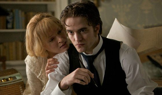 Robert Pattinson and Uma Thurman «Bel Ami»