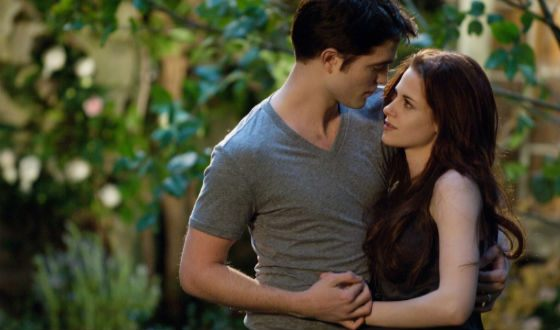 "A snapshot from ""The Twilight Saga: Breaking Dawn"""