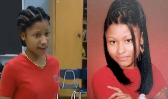 Nicki Minaj in her youth