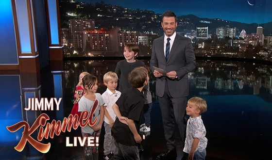 In 2013 Jimmy Kimmel started a new segment in Jimmy Kimmel Live! discussing the political questions with kids