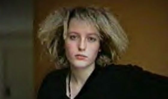 Gillian Anderson in her youth
