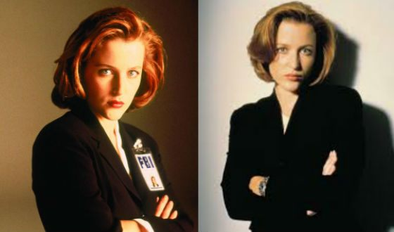 Such Gillian Anderson was remembered by millions of viewers