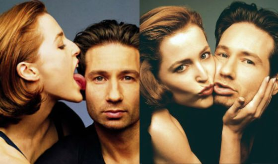 Despite the inevitable rumors, Gillian Anderson and David Duchovny didn't date in life