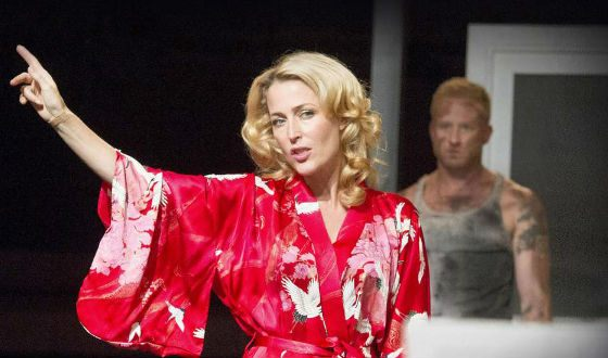 A Streetcar Named Desire: Gillian Anderson as Blanche DuBois