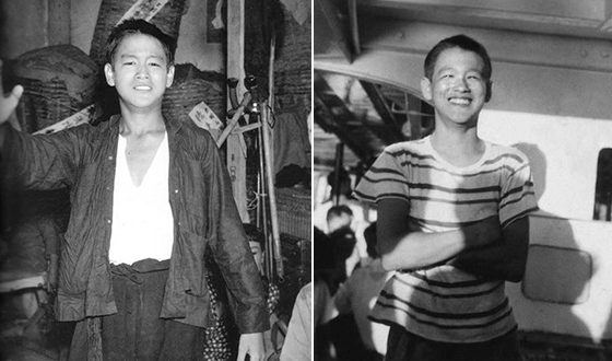 Bruce Lee in his Childhood