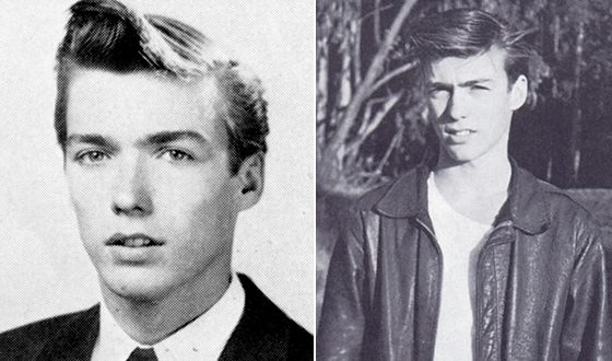 Clint Eastwood at a young age