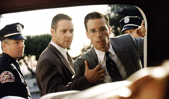 Russel Crowe in the film «L.A Confidential»