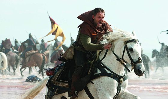 Russell Crowe in the film «Robin Hood»