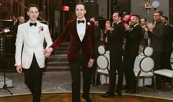 Jim Parsons and Todd Spiewak`s marriage
