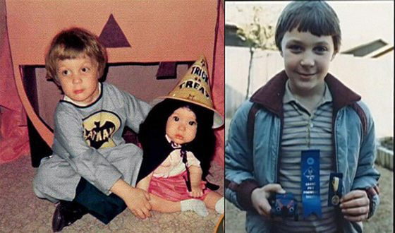 Jim Parsons in his childhood