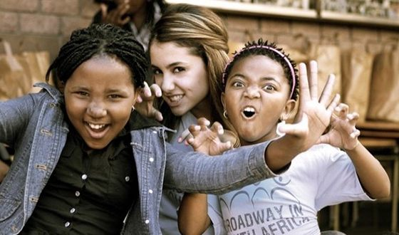 Since 2014, Ariana became an activist of the project «Broadway in South Africa»