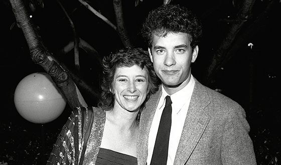 Tom Hanks and his first wife, Samantha Lewes