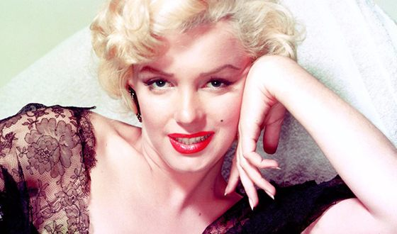 In the photo: Marilyn Monroe