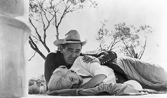 Marilyn Monroe and Clark Gable in «The Misfits»