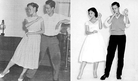 Bruce Lee used to go in for dancing in his youth