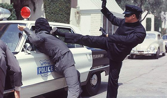 Bruce Lee in «The Green Hornet»
