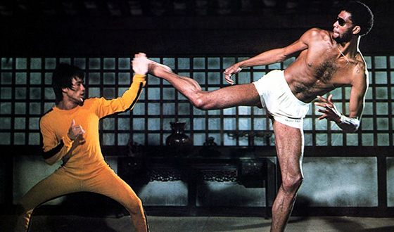 A scene from «Game of Death»