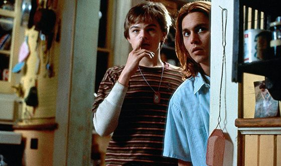 Leonardo DiCaprio and Johnny Depp in «What's Eating Gilbert Grape»