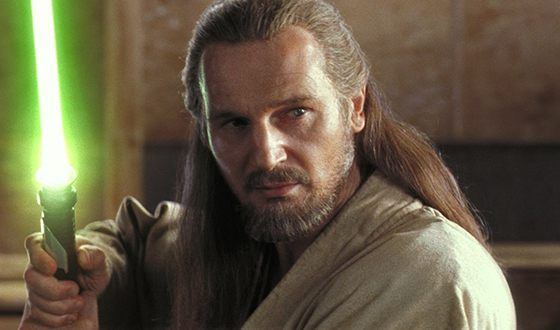 Liam Neeson in the Saga «Star Wars: Episode I – The Phantom Menace»