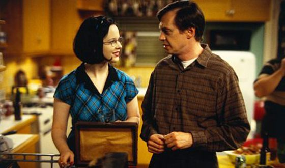 Steve Buscemi alongside Thora Birch in the Ghost World tragicomedy