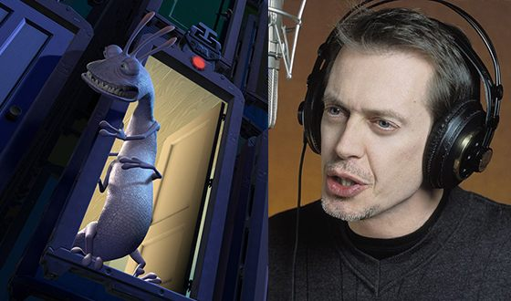 Steve Buscemi presented his voice to Randall Boggs from the Monsters, Inc