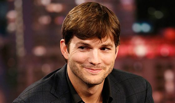On the photo: Ashton Kutcher