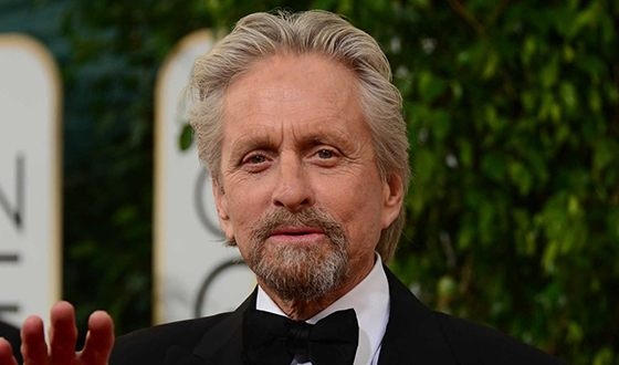 In the photo: Michael Douglas