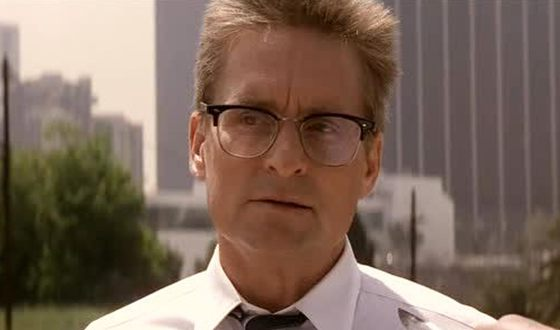 Michael Douglas in the Falling Down