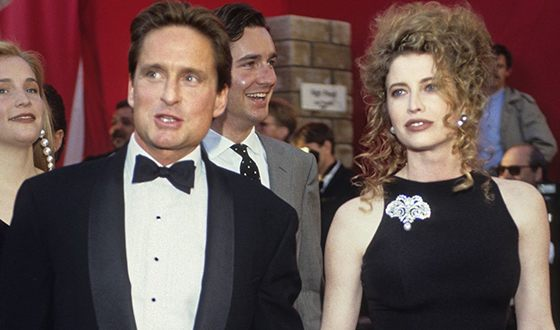 Michael Douglas and Diandra Luker
