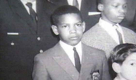 Denzel Washington in his school years